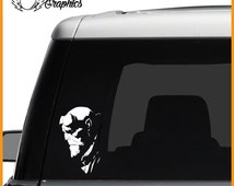 Hellboy Vinyl Vehicle Decal