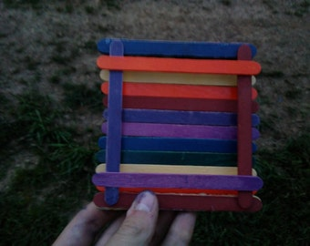 Popsicle Stick Coaster -- Set of 5