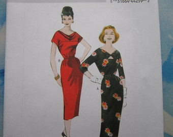 Butterick 5707 Reproduction 1958 Dress Sewing Pattern 14-22