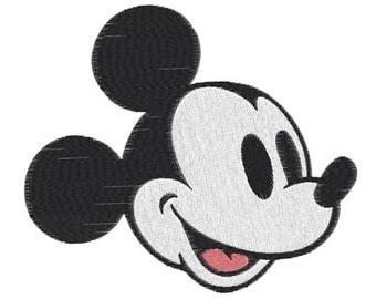 Mickey mouse Machine Embroidery Design -- SB781