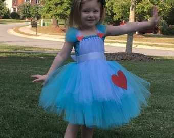 Custom Alice in Wonderland Tulle Costume