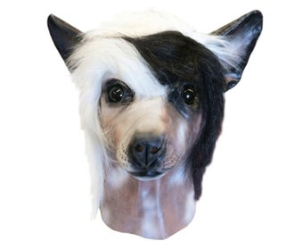 Chinese Crested Dog Costume Face Mask - Kennel Club