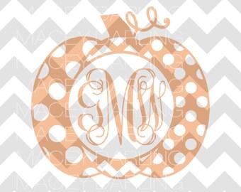 Chevron Pumpkin SVG, Polka Dot Pumpkin SVG, Chevron, Polka Dot, Chevron Pumpkin, Polka Dot Pumpkin, Pumpkin SVG, Halloween svg, Halloween