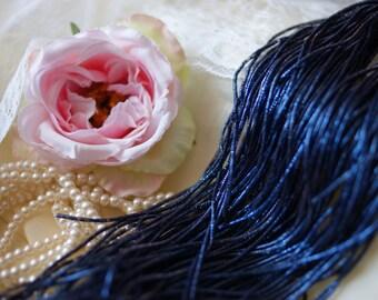 Goldwork Wire-Gold Wire-Metallic Rough Wire-Blue Wire