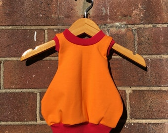Tangerine Bubble Dress