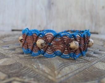"""Macrame """"Lace"""" bracelet"""