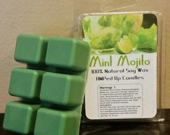 Mint Mojito Wax Melts, Tarts, 6 cubes