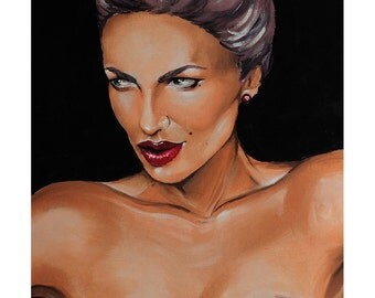 Painting: Woman 001