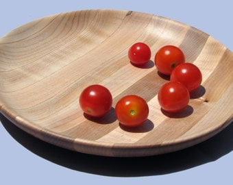Small Maple Plate