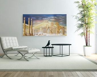 Palmyra  - Oil on Canvas
