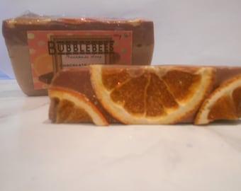 Chocolate Orange and Shea Butter Handmade Soap