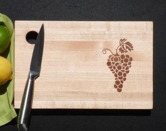 Grape Wood Tray Etsy