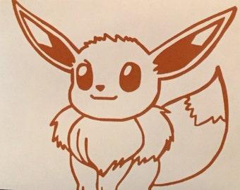 Pokemon: Eevee Decal