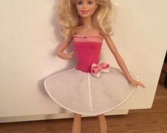 CUSTOM! A Barbie Ballgown made from your special Kippah / Yarmulke