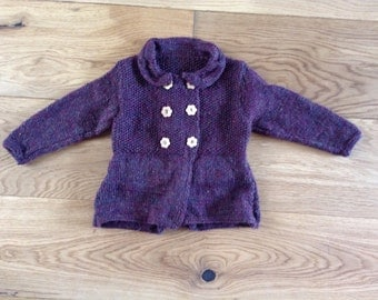 Girls knitted Willow Coat