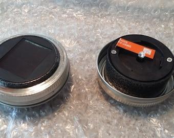 Solar Mason Jar Light Lid   SKU - SMJL6492