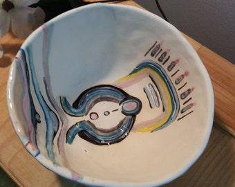 Ceremonial Sci Fi bowl