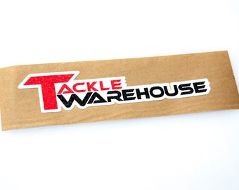 Tackle Warehouse - Bass Boat Carpet Graphic - Decal Logo