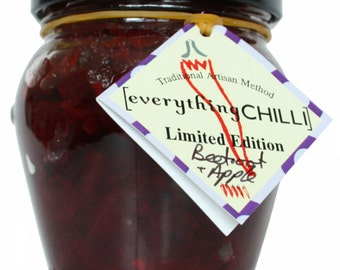 Beetroot & Apple Chutney with Chilli
