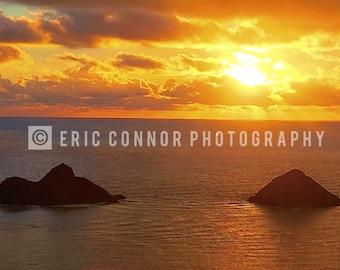 Lanikai Beach Sunrise Landscape