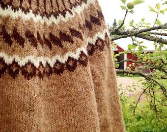 Icelandic handknitted wool sweater