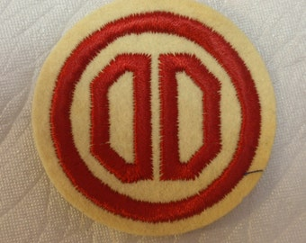 "WW2 U.S. 31st ""Dixie"" Infantry Division Insignia * usp369"