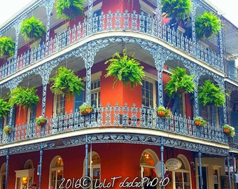 New Orleans Photography, New Orleans Print, New Orleans Art, New Orleans Art Print, Architecture Art, Wall Art, French Quarter Photo