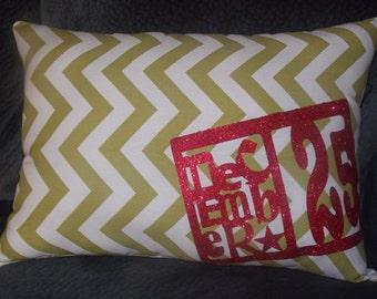 December 25th Pillow