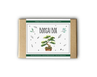 Bonsai box – also as a personal gift idea - seeds and seeds for the garden