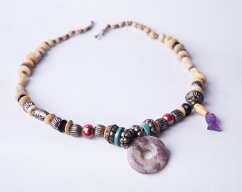 Bohemian necklace Lhasa