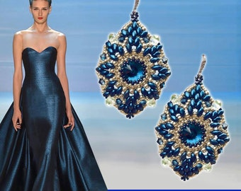 EARRINGS BLUE NIGHT