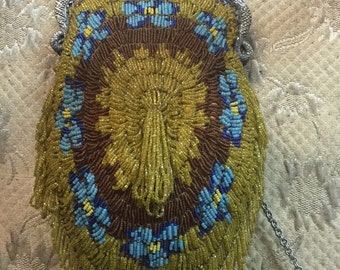 1930's Beaded Evening Bag