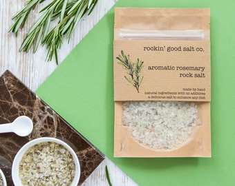 Rosemary Rock Salt 70g