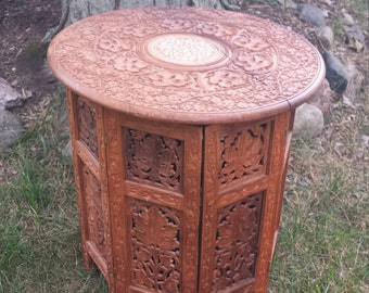 Anglo Indian Tabouret