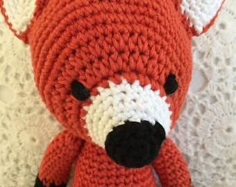 Lesie the Crochet Fox