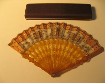 Anique decorated fan