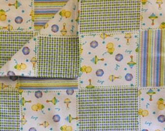 Burp Cloth - Quilt Toys 01