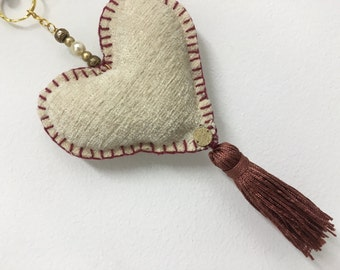 Heart Key Chain Handmade