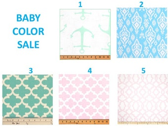 SALE PINK BLUE mint dining table placemats set