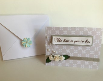 Inspirational Card- Encouragement Card