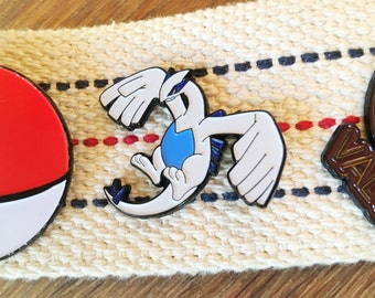 Sale IMPERFECT Pokemon Soft Enamel Pin - Lugia DISCONTINUED