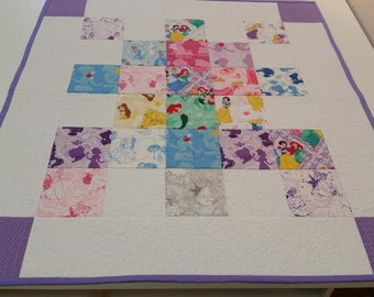 Baby Quilt - Little Princess Quilt