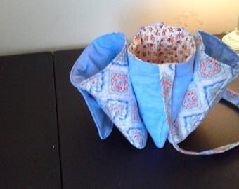 Blue 3 Pocket Bag