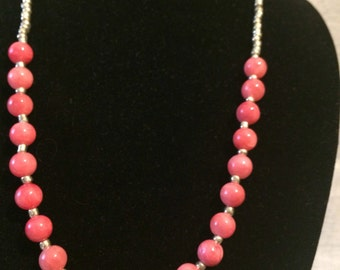 Dreamy pink necklace