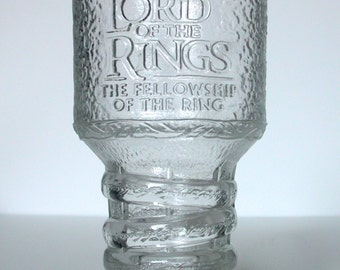 COLLECTABLE Goblet collection The Lord of Rings glass GANDALF December 2001 replacement