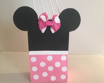 Minnie Mouse Goodie Bags 12 pk