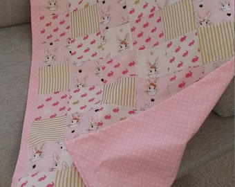 Custom Made Patchwork Baby Blankets