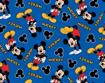 Disney Mickey Mouse 28 Fabric From Springs Creative