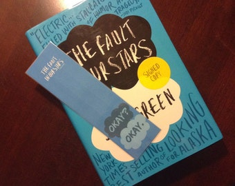 Bookmark - The fault in our stars