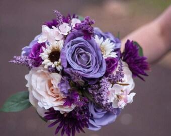 Beautiful Bridal & Bridesmaid Bouquets